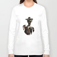 robot Long Sleeve T-shirts featuring robot by Кaterina Кalinich