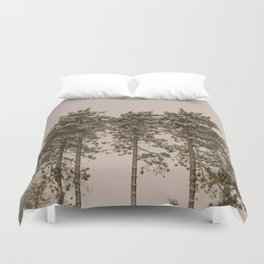 The Tallest Trees Duvet Cover
