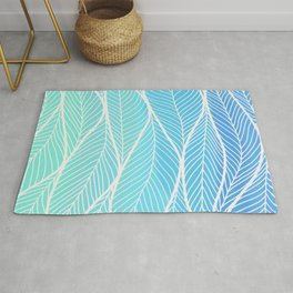 into the blue motions Rug