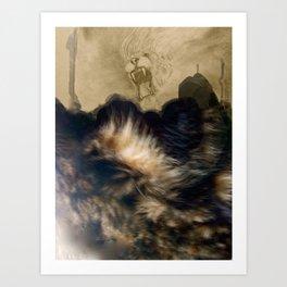 Furscape 2: Eastern Cat-astrophe Art Print