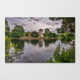 The River Thames At Bisham Canvas Print