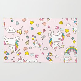 Unicorn Pattern Rug