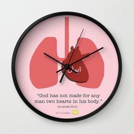 Muslim Anatomy - Heart Wall Clock