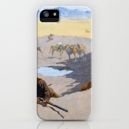 Fight for the Waterhole - Digital Remastered Edition iPhone Case
