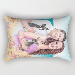 Commission portrait Rectangular Pillow