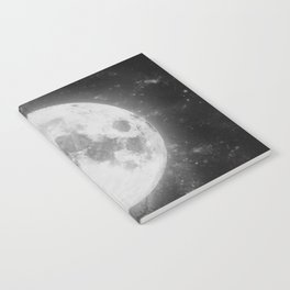 The Moon 2 Notebook