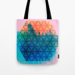 Honeycomb Geode   Minimalist   Abstract   Modern   Shapes   Geometrix Tote Bag