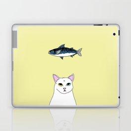 Fat D. Loves Fish Laptop & iPad Skin