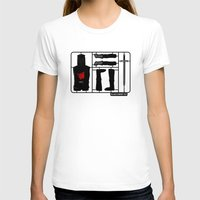 kit king T-shirts featuring Knight kit by le.duc