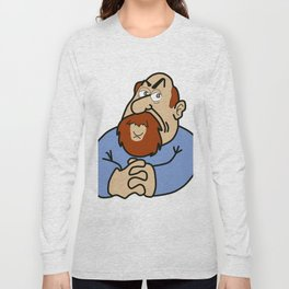 Self-caricature Long Sleeve T-shirt