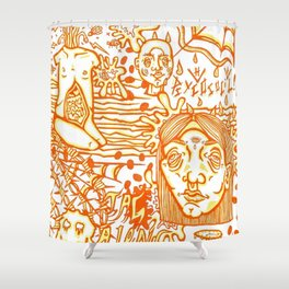 Psycosocial! Shower Curtain
