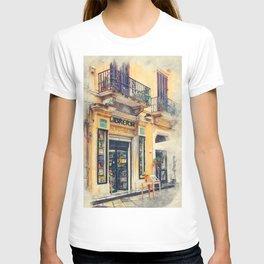 Trapani art 21 Sicily T-shirt