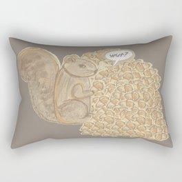 chip! brown Rectangular Pillow