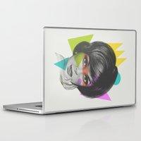 makeup Laptop & iPad Skins featuring Makeup by Zeke Tucker