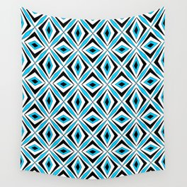 symetric patterns 70 -mandala,geometric,rosace,harmony,star,symmetry Wall Tapestry
