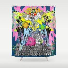 Jx3 Gallery - Clock Shower Curtain
