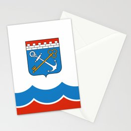flag of Leningrad oblast Stationery Cards