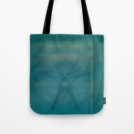 Abstract ~ Twigs at Sunset  Green Tote Bag