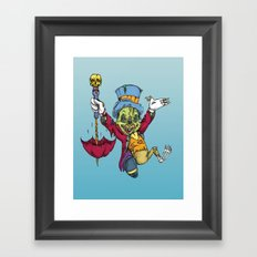 A fine conscience I turned out to be Framed Art Print