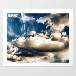 Heaven. Art Print
