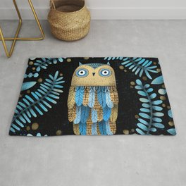 FEATHER DRESS Rug