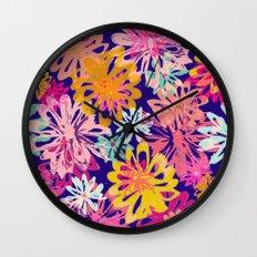 FlowerHex Wall Clock