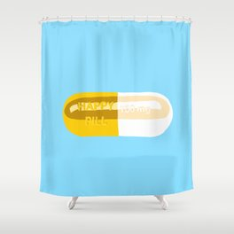 Happy Pill Shower Curtain