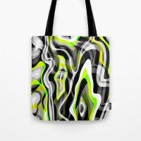 neon Tote Bags featuring Neon by Marta Olga Klara