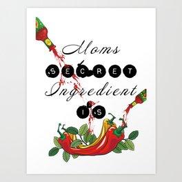 Moms Secret Art Print