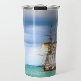 The Journey Begins - Flagship Niagara, Erie, PA Travel Mug
