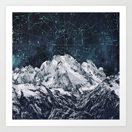 Constellations over the Mountain Kunstdrucke