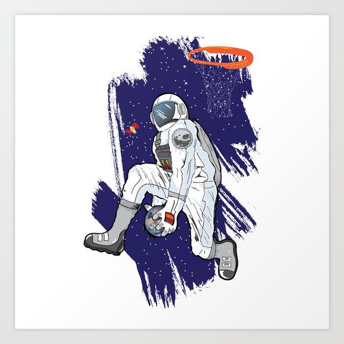 a6594a640c72 Space Jam Art Print by duvernebb
