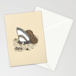 The Mullet Shark Stationery Cards