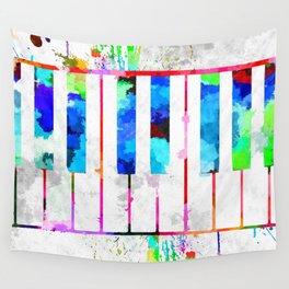 Piano Keyboard Wall Tapestry