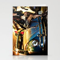 volkswagon Stationery Cards featuring Bug Life by sysneye