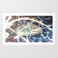 The work of Art in an Age of Mechanical and Chemical Reproduction. Art Print