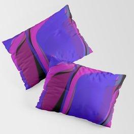 radial 2 section Pillow Sham