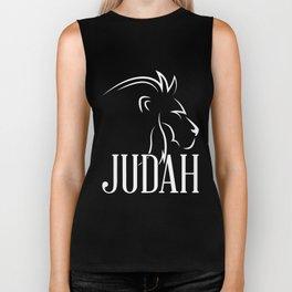 Tribe Of Judah Lion - Messianic Yahshua Israelites Biker Tank