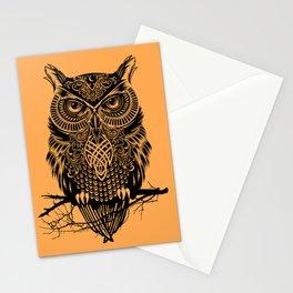 Warrior Owl 2 Stationery Cards