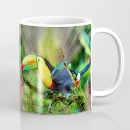 Toucan watercolor Coffee Mug