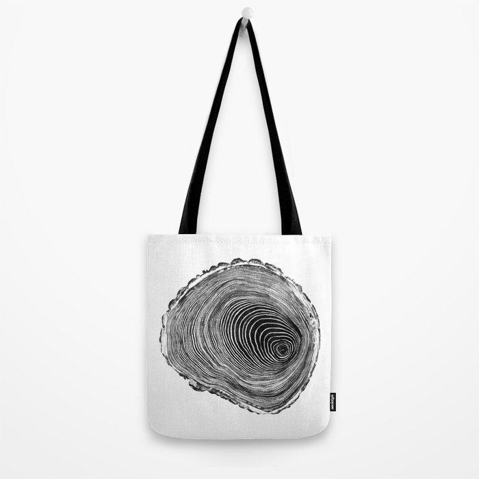 wood cut Tote Bag