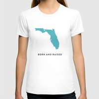 florida T-shirts featuring Florida by Hunter Ellenbarger