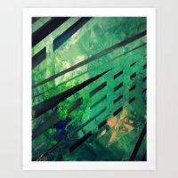 malachite Art Prints featuring MALACHITE by Matt Schiermeier
