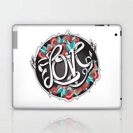 Love -Ribbon-Word Laptop & iPad Skin