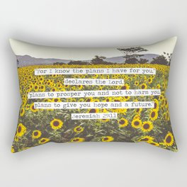Jeremiah Sunflowers Rectangular Pillow