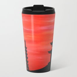 Pagodes sunset Travel Mug