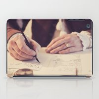 writing iPad Cases featuring hand writing by Zsolt Kudar