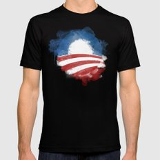 Artists for Obama Black SMALL Mens Fitted Tee