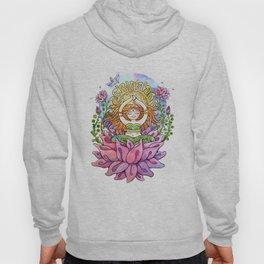 Yoga Flower Girl Hoody