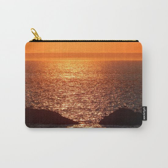 Orange Skies at Sunset Carry-All Pouch